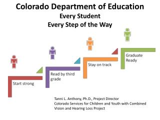 Colorado Department of Education  Every Student  Every Step of the Way