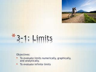 3-1: Limits