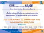OGE   Conseil R gional de Toulouse, Midi-Pyr n es