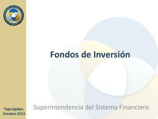 Fondos de Inversi�n