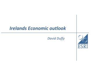 Irelands Economic outlook