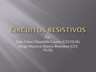 Circuitos Resistivos