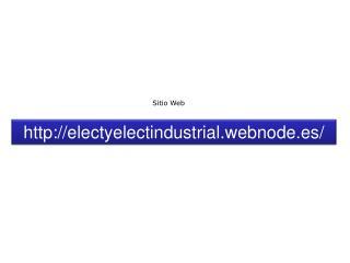 electyelectindustrial.webnode.es /