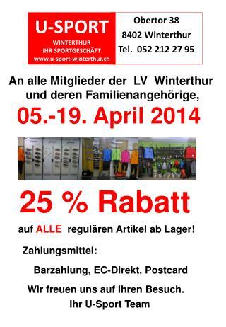 U-SPORT  WINTERTHUR IHR SPORTGESCHÄFT u-sport-winterthur.ch
