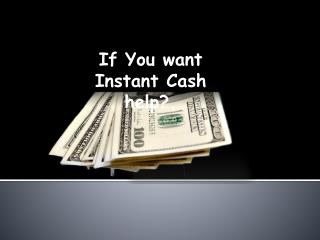 Get Instant Payday Loans With Low Cost Fund!