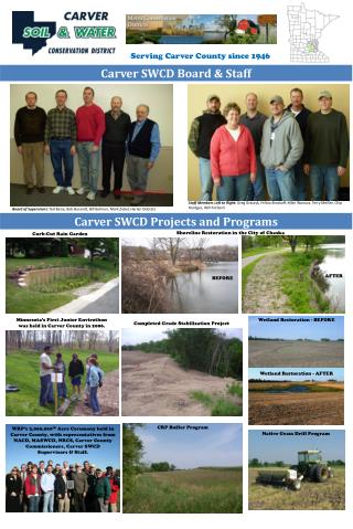 Carver SWCD Board & Staff