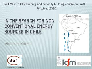 In the search for non conventional energy sources in Chile