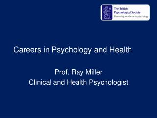Careers in Psychology and Health