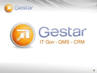 IT  Gov  – QMS - CRM