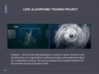 LERC ALGORITHMIC TRADING PROJECT
