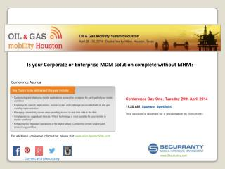 Is your Corporate or Enterprise MDM solution complete without MHM?