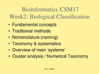 Introduction to microbiology.    Classification and nomenclature of microorganisms.
