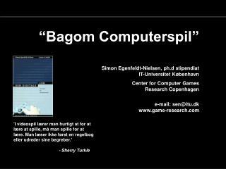 Bagom Computerspil