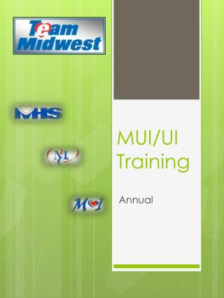 MUI/UI Training
