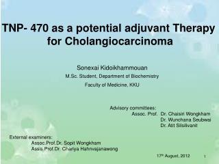 Sonexai Kidoikhammouan M.Sc. Student, Department of Biochemistry Faculty of Medicine, KKU