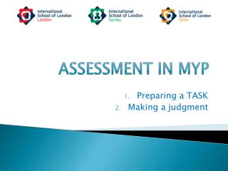 Assessment in MYP