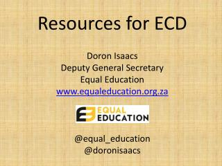 How do we make ECD a top priority?