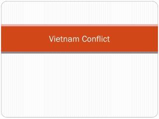 Vietnam Conflict