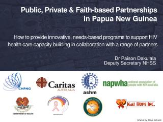 Dr Paison Dakulala  Deputy Secretary NHSS