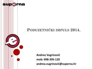 Poduzetnički impuls 2014.