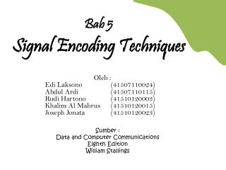 Sumber : D ata and Computer Communications Eighth Edition William  Stallings