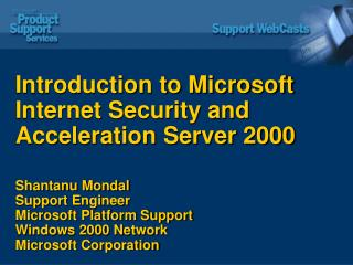 Introduction to Microsoft