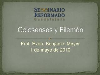 Colosenses y Filemón