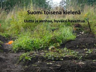 Suomi toisena kielenä