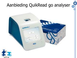 Aanbieding  QuikRead  go analyser