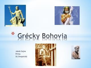 Grécky  Bohovia