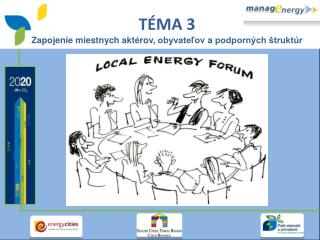 T ÉMA  3 Z apojenie  mi e stn y ch aktérov ,  obyvateľov  a  podporných štruktúr