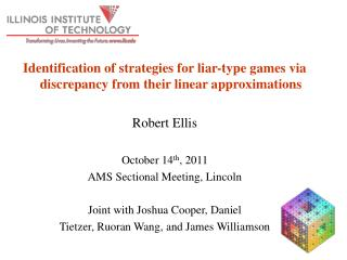 Identification of strategies for liar-type games via discrepancy from their linear approximations
