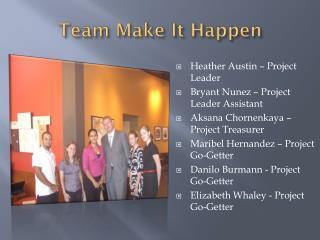Team Make It Happen