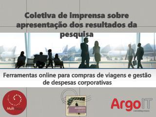 Ferramentas online  para  compras de viagens e gestão de despesas corporativas