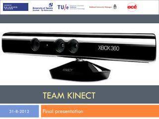 Team  Kinect