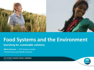 Food Systems and the Environment