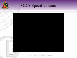 ODA Specifications