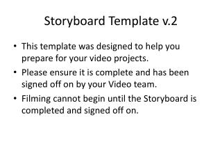 Storyboard Template v.2