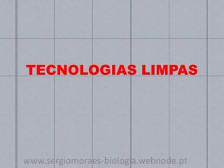 TECNOLOGIAS LIMPAS