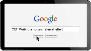 ppt 32261 OET Writing a nurse s referral letter