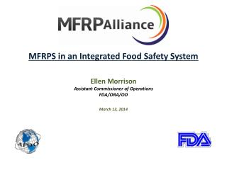 MFRPS in an Integrated Food Safety System