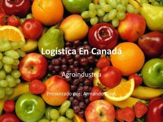 Logística En Canadá