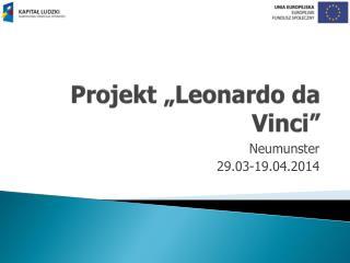 "Projekt ""Leonardo da Vinci"""