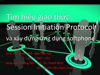 T�m hi?u giao th?c Session Initiation Protocol
