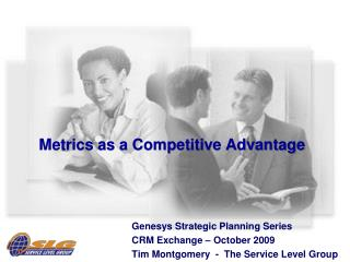 Metrics as a Competitive Advantage