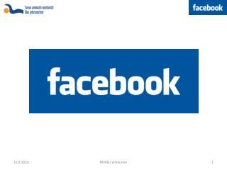 Mitä  Facebook  on?