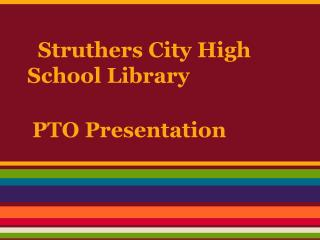 Struthers City High School Library