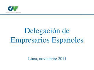 Delegación de Empresarios Españoles
