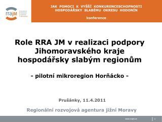 Regionální rozvojová agentura jižní Moravy