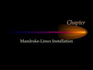 Mandrake-Linux Installation